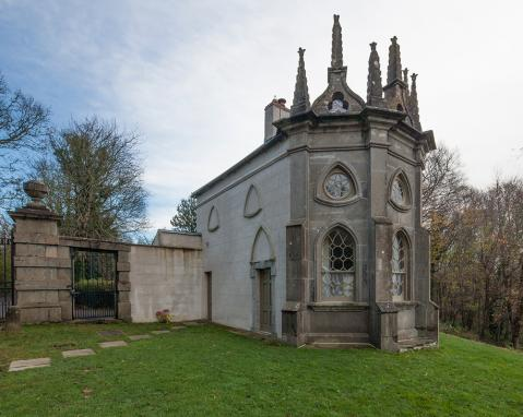 Batty Langley Lodge, Irish Landmark Trust. Leixlip, Co. Kildare, Eire.
