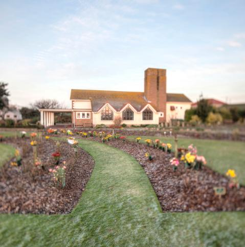Westmount Crematorium. Jersey Channel Islands.