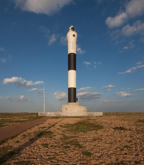 Dungeness Lighthouse. Dungeness, Kent.
