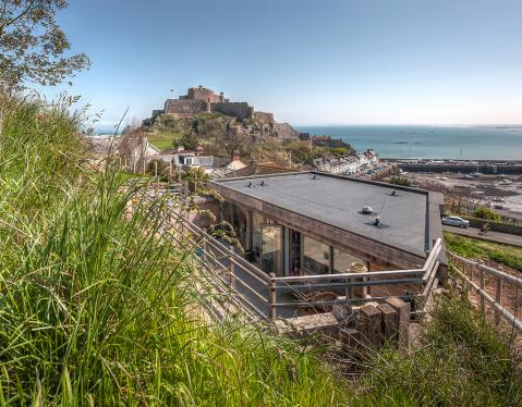 The Hill House. St.Martin, Jersey. Channel Islands.