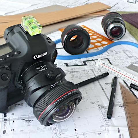 Photographic equipment and design tools.