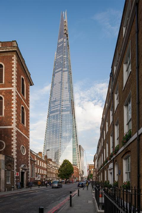 The Shard. London Bridge, London.