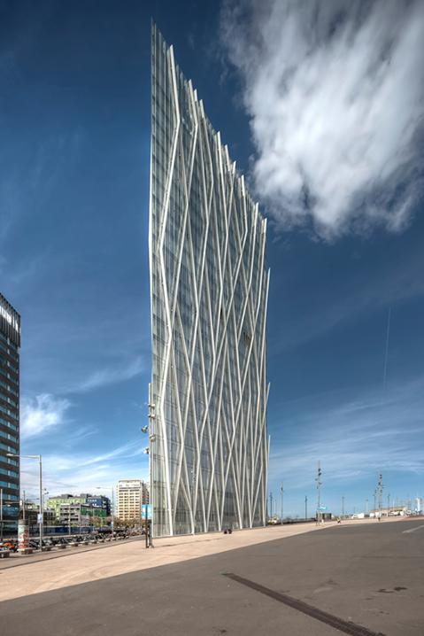 Telefonica HQ. Diagonal Mar, Barcelona.