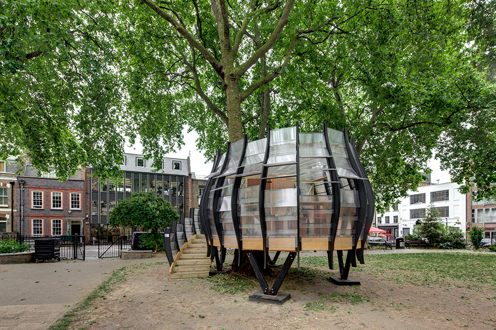 TREE x OFFICE. Hoxton Square, London.
